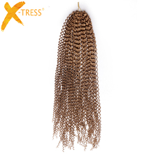 Buy bohemian hair extensions and get free shipping on aliexpress x tress synthetic freetress bohemian braids hair extensions curly crochet hair 20 30 strands pmusecretfo Gallery