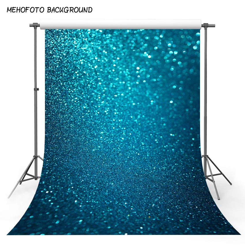 MEHOFOTO Photography Backdrops Blue Bokeh Party Backdrop Custom Children Photo Background for Photo Studio F-3118 mehofoto 5x7ft thin vinyl children photography background custom christmas photo backdrops for photo studio s 2105