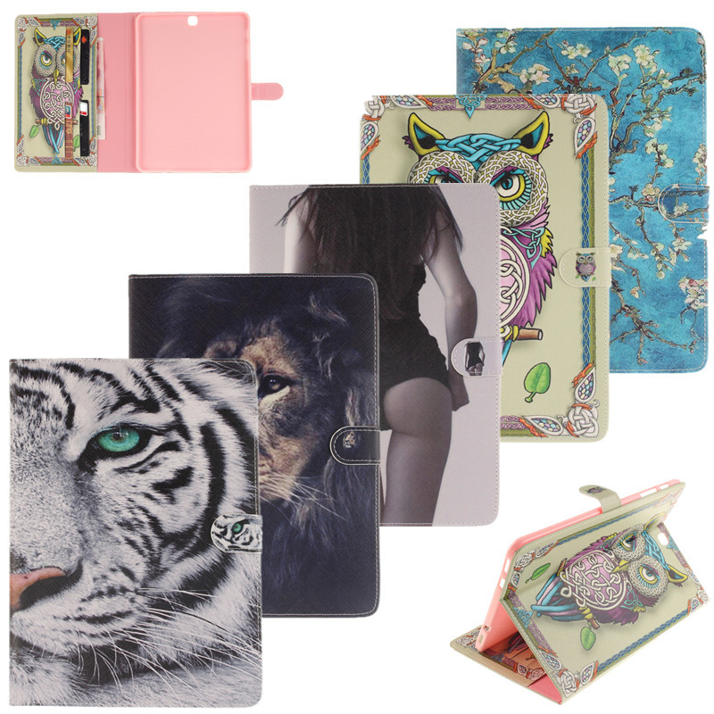 Tiger Owl Tablet Case For Samsung Galaxy Tab S2 9.7