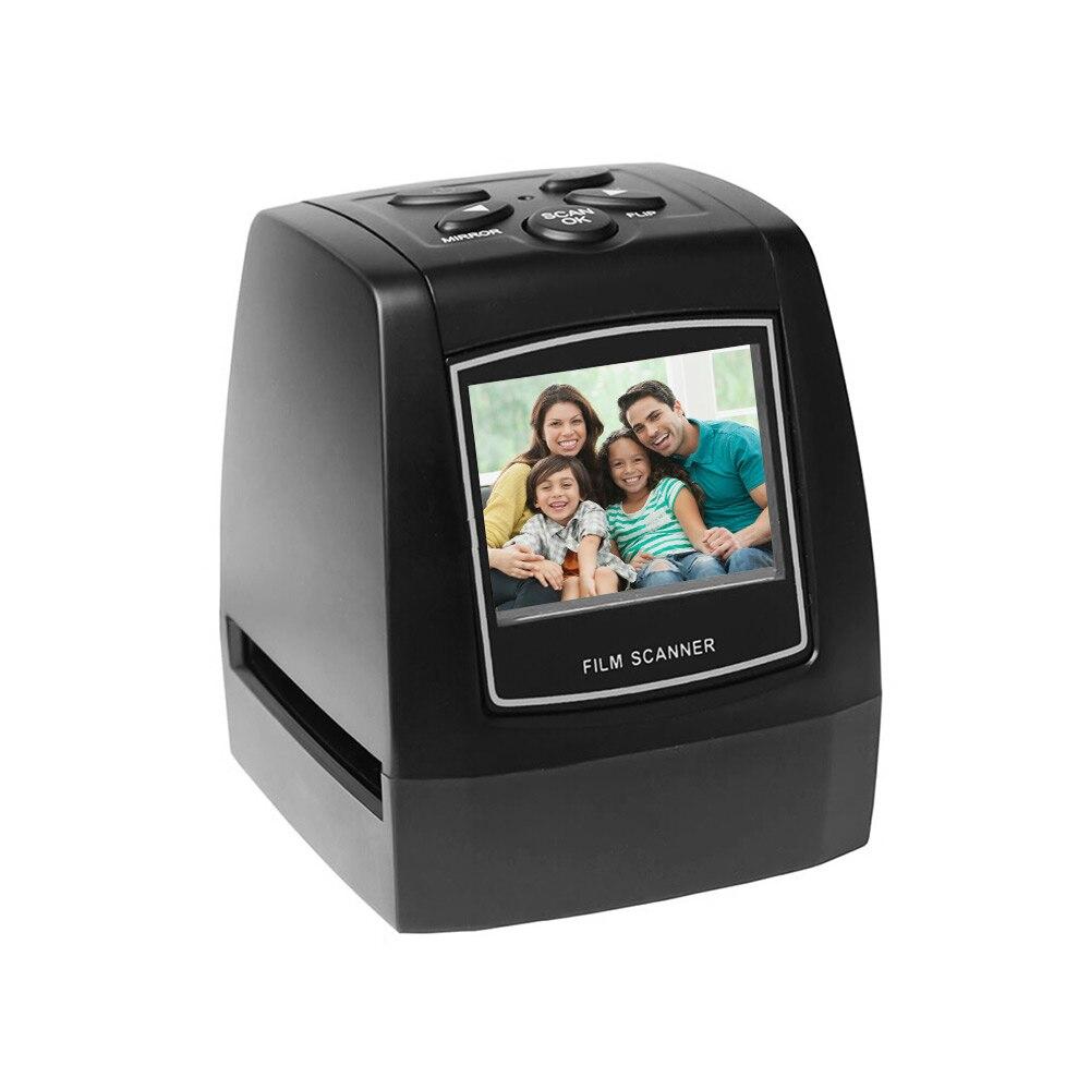 Protable Negative Film Scanner 35mm 135mm Slide Film Converter Photo Digital Image Viewer with Built in