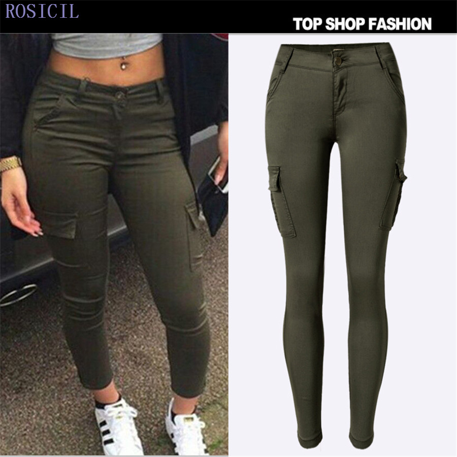 ROSICIL Women Jeans Large Size Low Waist Autumn 2017 Blue Elastic Long Skinny Slim Jeans Trousers For Women TSL037# women jeans large size high waist autumn 2017 blue elastic long skinny slim jeans trousers large size denim pants stretch female