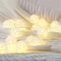2 Meters DIY Wedding Decoration 20 Leds Mini Lamp Ball Pattern Creative Lighting Chains Bedroom Outdoor