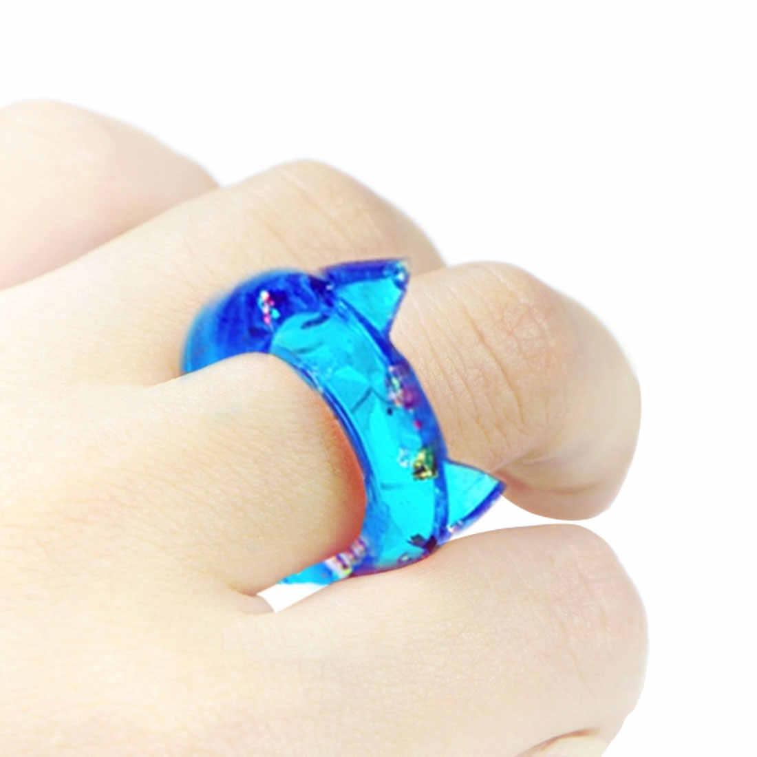 2019 Новые прозрачные DIY из силикона, круглые кошачьи уши DIY Кристальные эпоксидные силиконовые кольца прессованная инструменты для изготовления смолы для ювелирных изделий