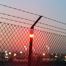 Водостойкий Солнечный свет безопасности человеческого тела индукционный звук Предупреждение свет 30-day длинный аккумулятор сигнал SOS поставки