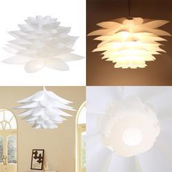 Новый стиль Мода DIY лилейный Лотос IQ головоломка подвесной абажур кафе ресторан Подвесная лампа на потолок