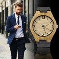 De madera de la vendimia marcar reloj de cuarzo relojes Hombres Mujeres Pareja Reloj Puntero Blanco Nueva Venta Caliente