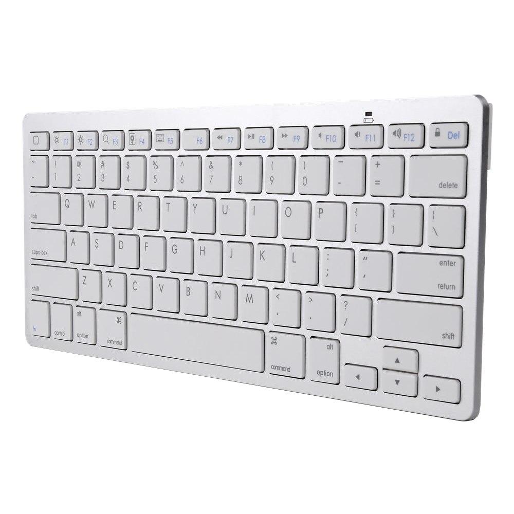 Classic Ultra Slim Up to 10 meter distance Mini Bluetooth 3.0 Wireless Keyboard For iPad