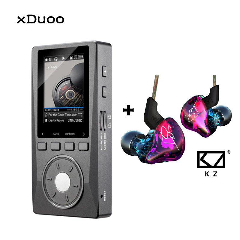 XDUOO X10 MP3 Professional Audio Player Lossless HIFI Music MP3 DAC DSD High Resolution Player 2.0 Inch Screen 256G 192KHz/24Bit 2016 brand new aigo eros q high quality dsd64 bluetooth 4 0 portable audio lossless hifi music player usb dac support otg