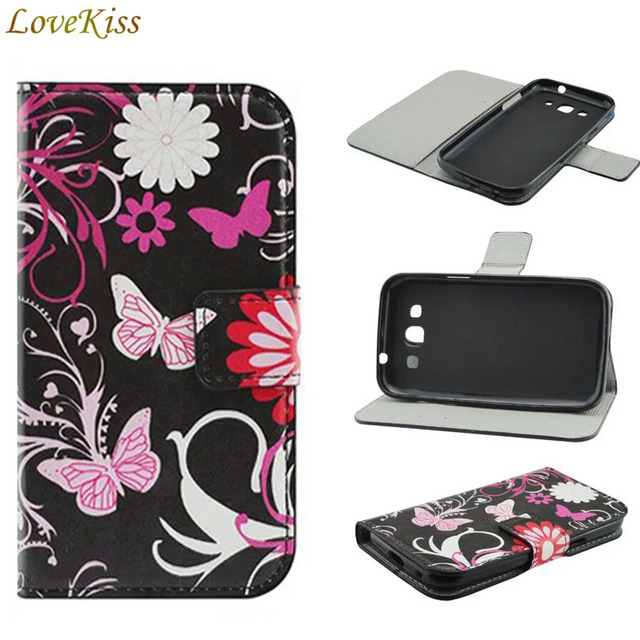 7160eceee21 Leather Flip Cases For Samsung Galaxy Win Duos i8552 GT-i8550 i8558 i8552  Grand Quattro