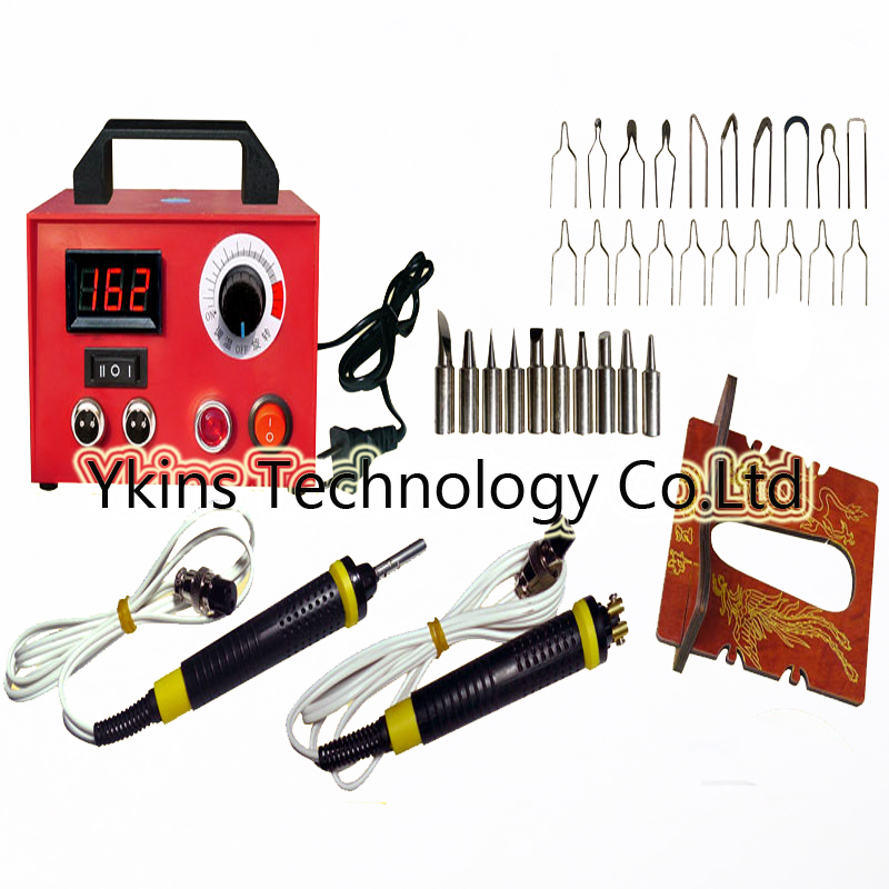 110V 220V 100W Digital Professional Pyrography toolkit Multifunction Pyrography machine with 20pcs tips +10pcs solder tip110V 220V 100W Digital Professional Pyrography toolkit Multifunction Pyrography machine with 20pcs tips +10pcs solder tip