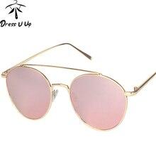 DRESSUUP Hipster gafas de Sol Mujeres Diseñador de la Marca de La Vendimia Océano Lente de la Mujer Gafas de Sol gafas De Sol Oculos Feminino mujer