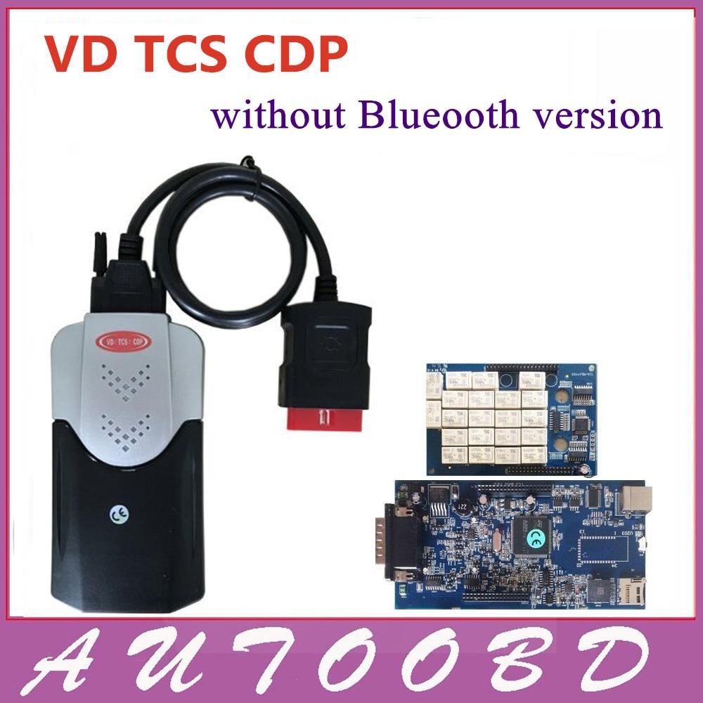 809feb236c2 2014.2 VD Ativador Keygen TCS CDP sem Bluetooth obd2 scanner para o  Carro Caminhão 3in1 com nec relés pcb 8.0 frete grátis
