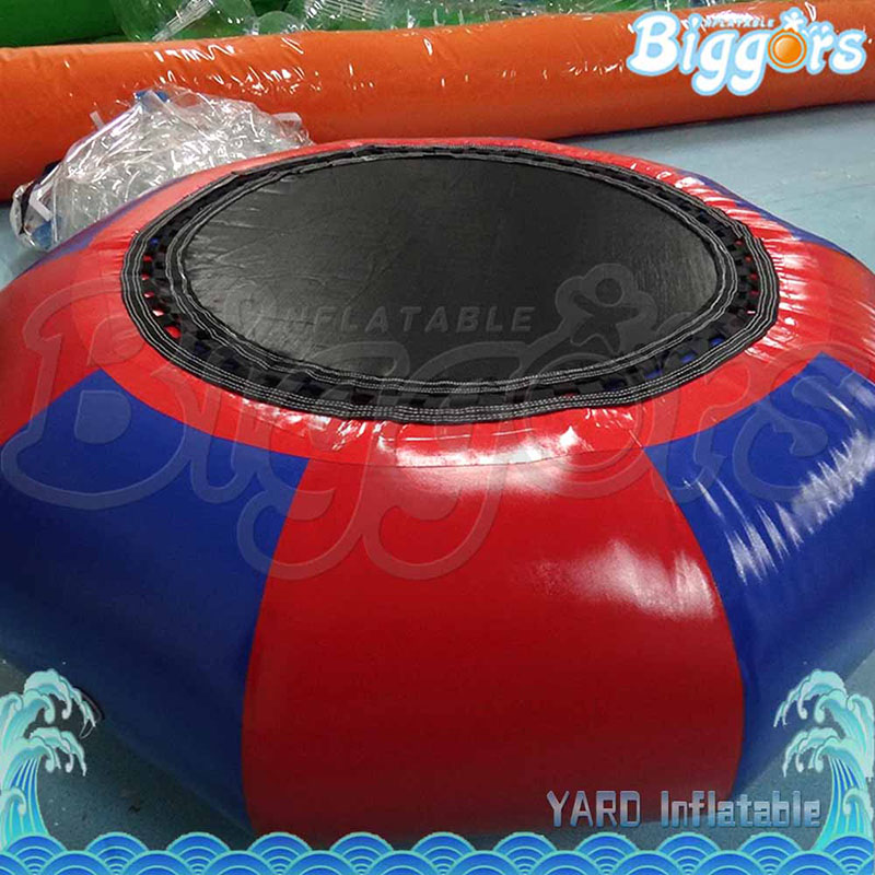 Lake Or Ocean Inflatable Funny Water Sports Game Water Trampoline With Air Pump And Repair Kit lake or ocean inflatable funny water sports game water trampoline with air pump and repair kit