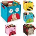 Милые Нетканые Ткани Игрушки Организатор Коробка Для Хранения детские Игрушки Книги Разное Обувь Ящик Для Хранения Одежды