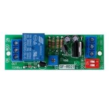 DC12V Adjustable Signal Trigger Timer Relay High Level Time Delay Turn Off