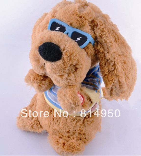Free Shipping 2013 Animal Dog Multi-fonction Music Soft Plush Dance Dolls  Baby Early Educational Electronic Pets Toys
