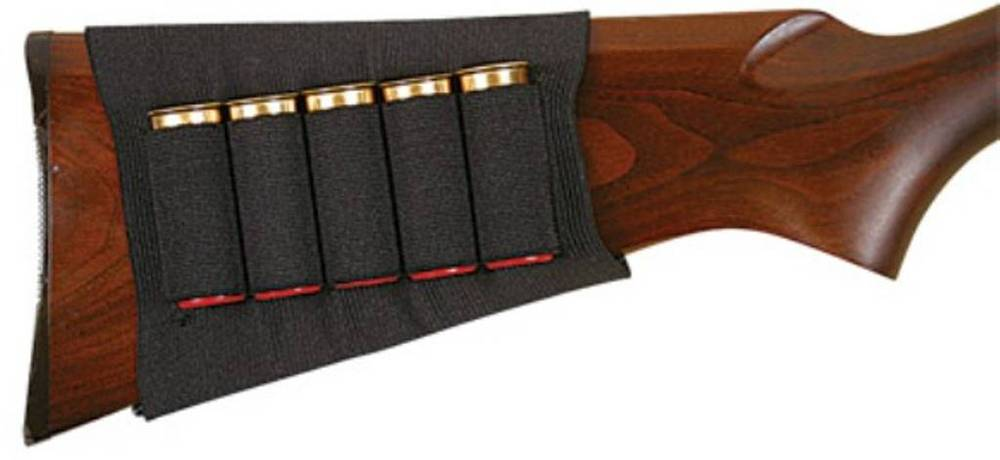 205 Shotgun Ammo Pouch Carrier Case Holster Fits Snug Holds 5 Shells Hunting Gun Accessories