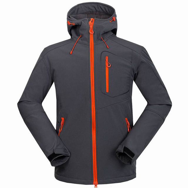 2017 New Softshell Jacket Men's Windstopper Waterproof Hiking Jackets Outdoor  Thick Winter Coats For Trekking Camping Ski RM033