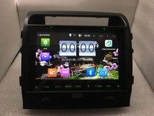 """Unidad principal GPS con BT Radio Mirrior Enlace Mapa tarjeta de 10 """"Android 6.0 Del Coche DVD GPS para Toyota Land Cruiser 200 2008-2015"""