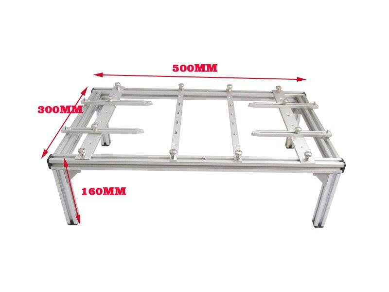 BGA support Jig bracket PCB board clamp for BGA repair universal pcb clamp bracket 500mmx300mmx160mm bga jig support pcb board for bga rework repair