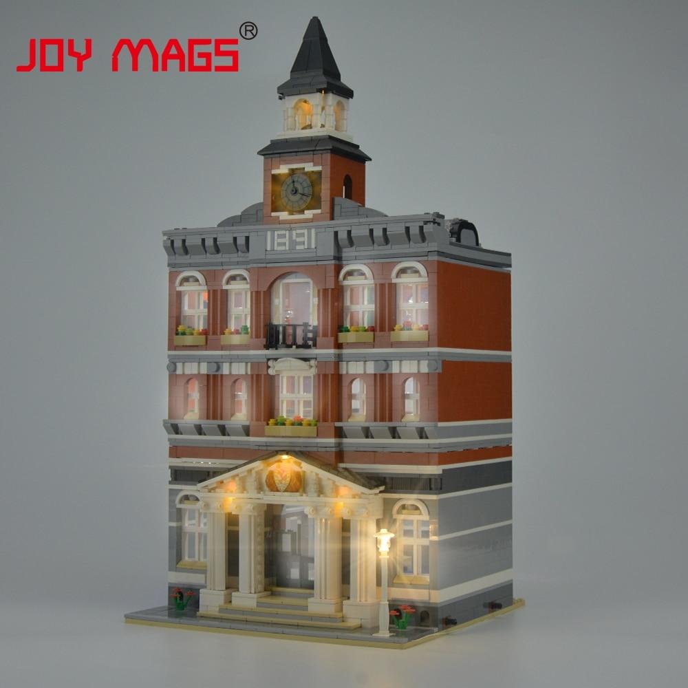 JOY MAGS Membawa Kit Lampu Untuk Pencipta Model Dewan Rumah Dewan Dewan Town yang Serasi Dengan 10224 Dan 15003 (TIDAK Sertakan Model)