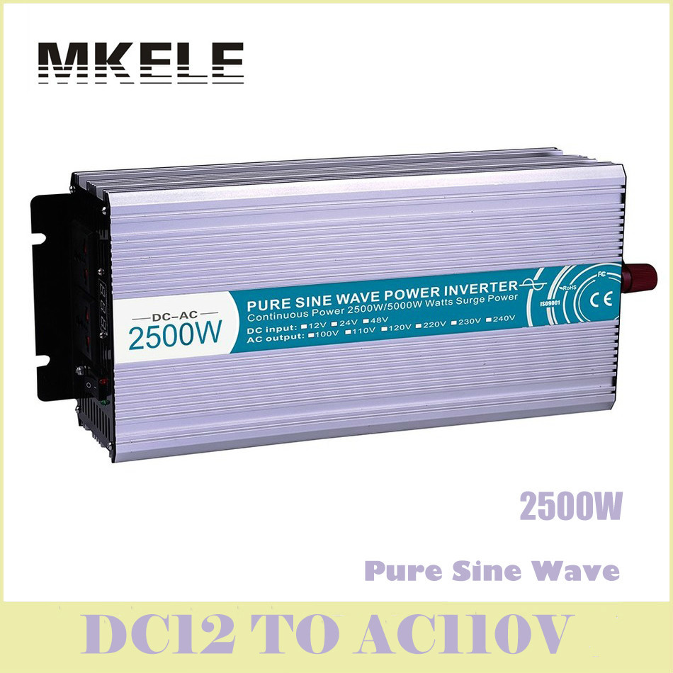 MKP2500-121 High Quality  Power Inverter 2500w Pure Sine Wave 12v To 110vac Voltage Converter Solar LED Displa China cxa l0612 vjl cxa l0612a vjl vml cxa l0612a vsl high pressure plate inverter