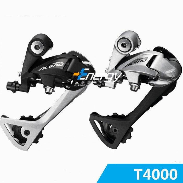 Цена за Путешествия велосипедов RD T4000 Горный велосипед Задний Переключатель MTB Горный Велосипед Переключатель 9*27 Скорость Велосипеда части