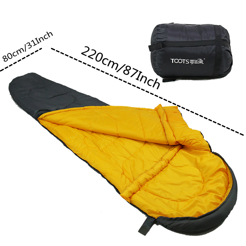 Image 4 - VILEAD 2 Colors Mummy type Ultralight Sleeping Bag Portable Waterproof Hiking Camping Sleep Bed Stuff Adult Quilt Lightweight-in Sleeping Bags from Sports & Entertainment