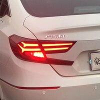 2018 год светодиодный Задние огни для Honda Accord 10th Gen автомобилей фонарь светодиодный светильник торможения света с подвижными световой сигнал