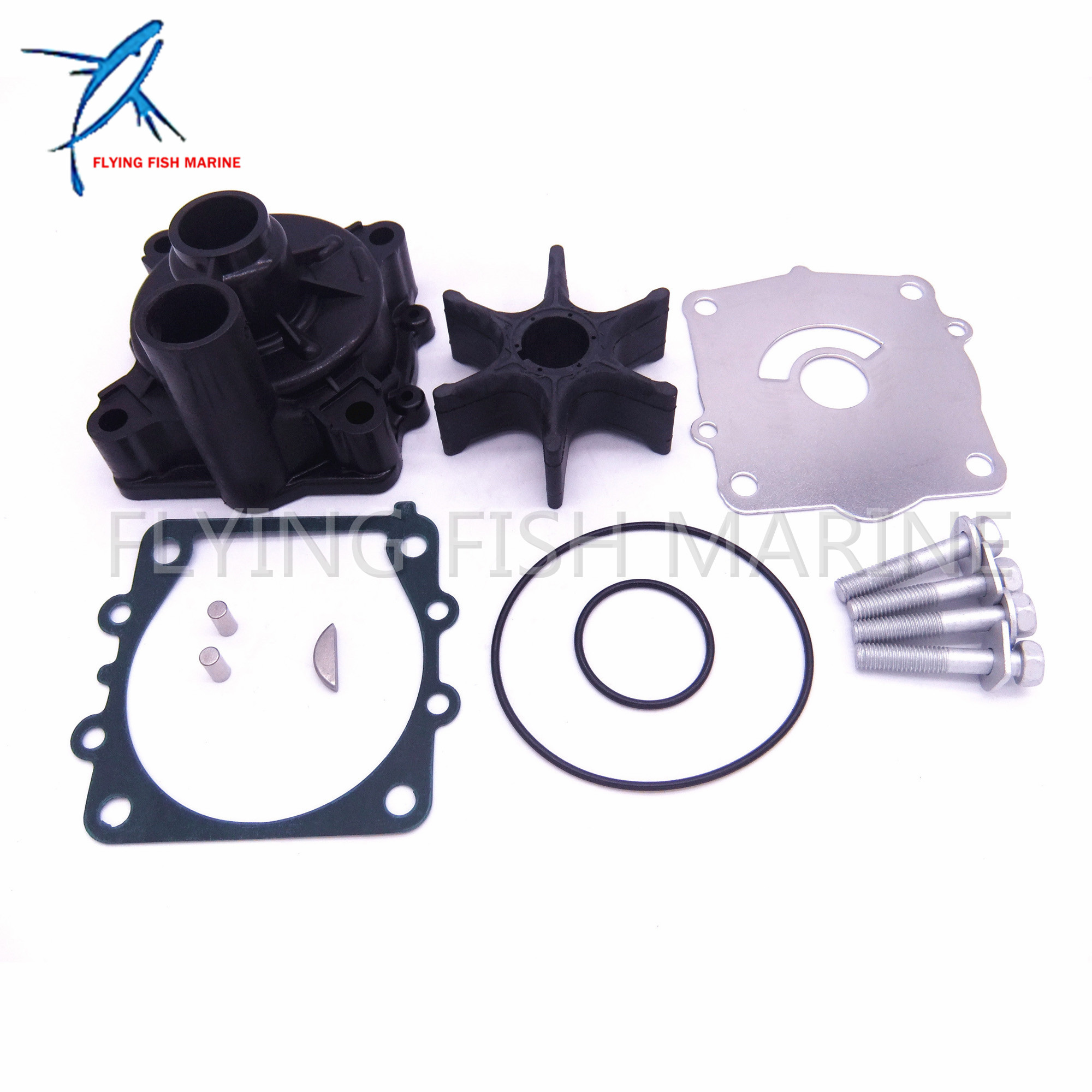 68V W0078 68V W0078 00 Water Pump Kit For Yamaha 115HP F115 Boat Outboard Motors