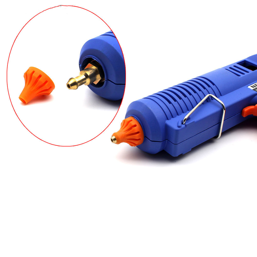 Pistola per colla a caldo hot plug 150W EU con strumento di - Utensili elettrici - Fotografia 4