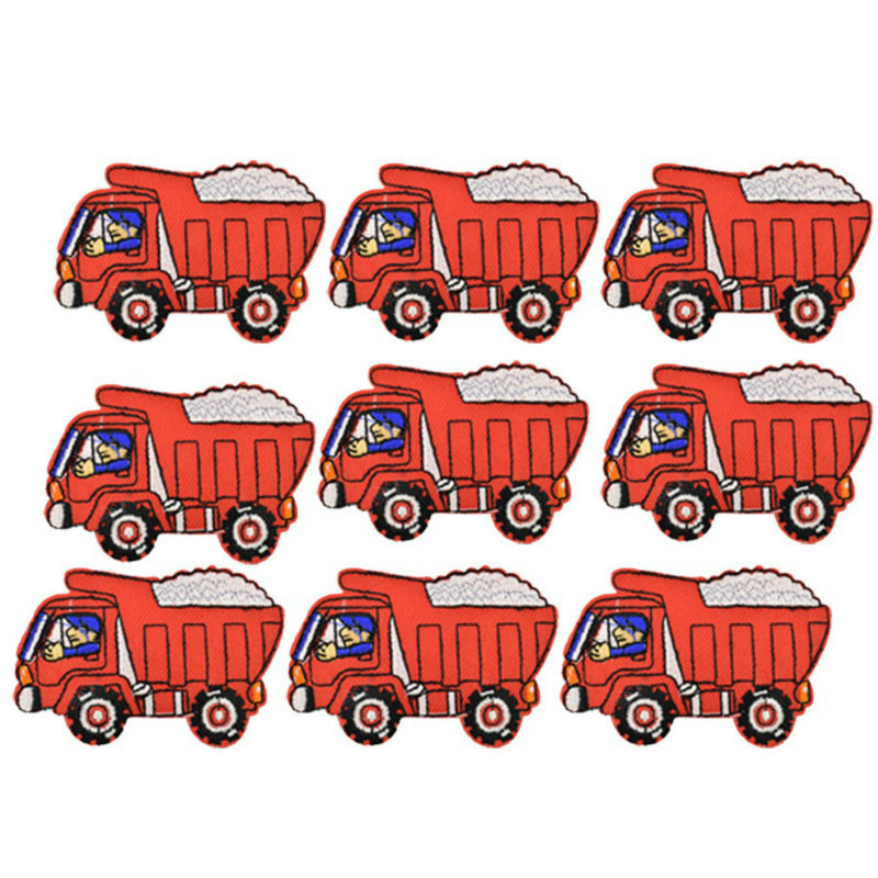 Dump Truck Embroidered Iron On Patch