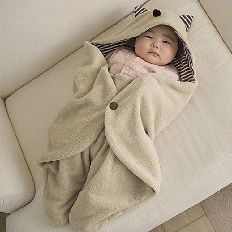 Newborn Autumn Winter Sleep Sacks Footmuff Baby Parisarc Blanket Infant Hooded Swaddle Swaddling Sleeping Bag Cart Stroller Sack