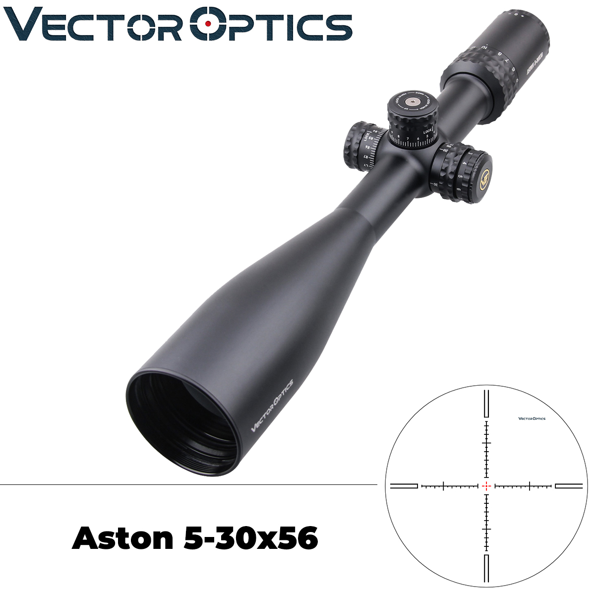 Vector Optics Top Brand Line Aston 5-30x56 Military Tactical Riflescope HD Glass Lens Hunting Scope .338 Lapua Sharp Clear View