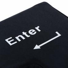 Big Enter Key Shaped Stress Relief Desktop Pillow