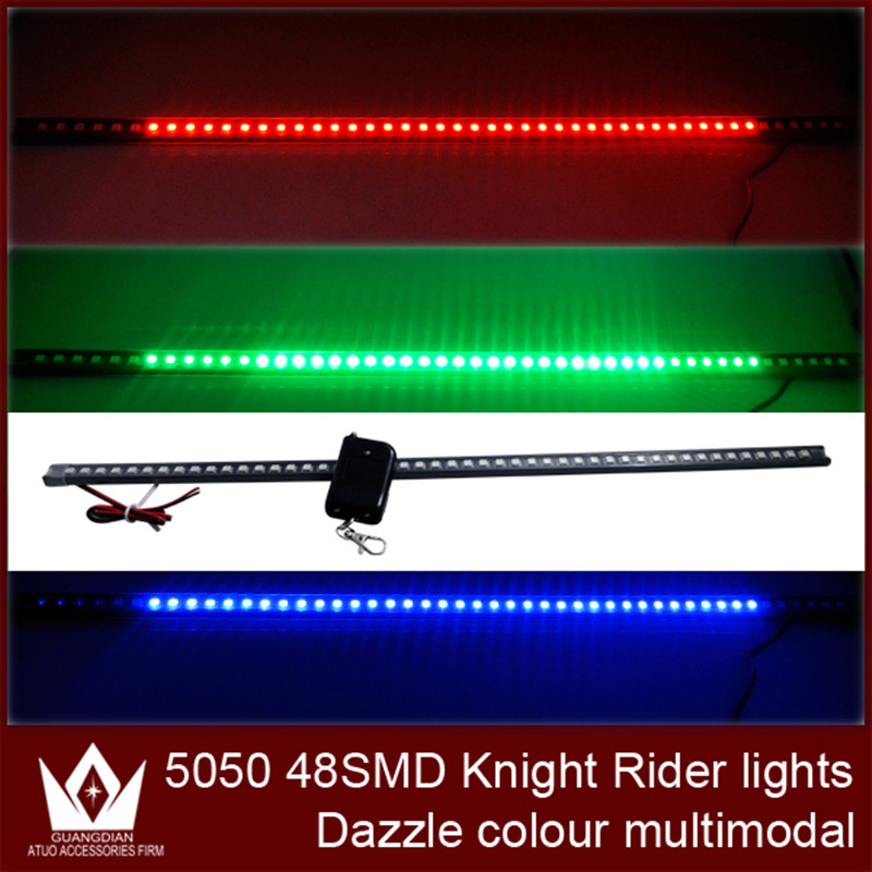 Night Lord 170 models Waterproof  48smd 5050 highpower remote colorful LED Knight Rider Lights with wireless remote control жилет для девочек mamakiss stable boy a329