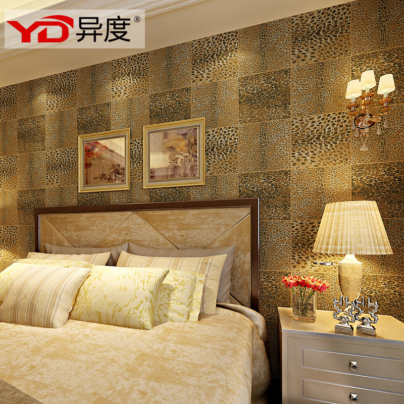 Diffe Degrees Of Southeast Asian Leopard Texture Wallpaper Pvc Waterproof Plaid Bedroom Living Room Bath In Wallpapers From Home