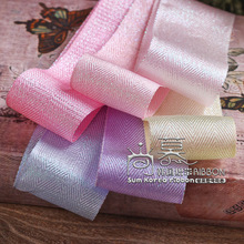 100yards 10/16/25/38mm glitter metallic purl double chevron korean ribbon for wedding party decoration handcraft diy supplies