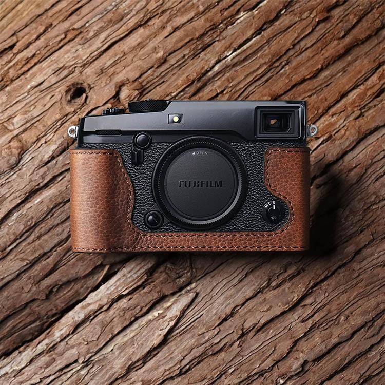 Mr.Stone Handmade Genuine Leather Camera case Video Half Bag Camera Bodysuit For Fuji X-PRO 2 xpro2 Camera mr stone genuine leather camera case video half bag retro vintage bottom case for fuji fujifilm xpro 2 x pro 2 xpro mark ii