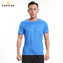Gym Shirt Men Running Tshirt Quick Dry T-shirt Supfire Tops Tees Sport Fitness Short Sleeve Men Sportswear Golf Shirt C038 e baihui gym shirt sport t shirt men quick dry fit running t shirt men fitness tshirt elastic sportswear basketball tshirt 1053