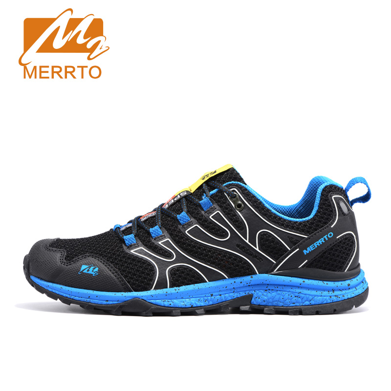 MERRTO New Men Running Shoes Breathable Mesh Sports Sneakers Men Athletic Shoes Breathable Running Shoes For Men Trail Trainers kelme 2016 new children sport running shoes football boots synthetic leather broken nail kids skid wearable shoes breathable 49