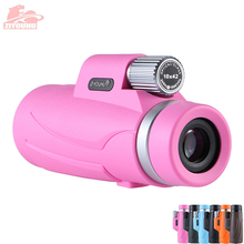 10X42 Portable HD Monocular Telescope Multi-Color Optional Daily Life Waterproof Telescopes Outdoor Hiking, Latest New Design