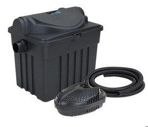 Image 1 - YT 9000 Binnenplaats vijver biochemische filter, waterzuivering apparatuur, filter doos, meerdere filters, ultraviolet sterilisatie.