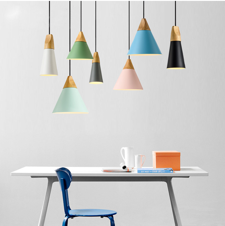 Phube Lighting Modern Pendant Light Black White Pink Green Blue Grey Pendant Light Bar Restaurant Living Room Lighting phube lighting modern pendant light black white green grey pendant light bar restaurant living room lighting