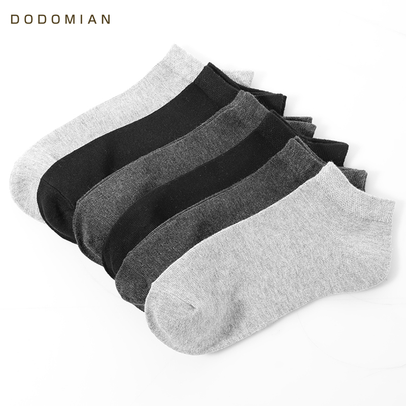Casual Breathable Short Socks For Mens Meias 6 pairs/lot Male Cotton Ankle Sock Calcetin Slippers Low Cut Sock Chausettes Homme