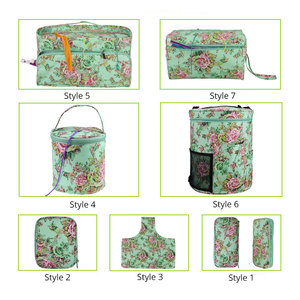 Image 2 - Looen Empty Yarn Storage Bag DIY Weave Crochet Hook Bag 7 Styles Crochet Hook And Knitting Bag For Hooking And Knitting Sewing
