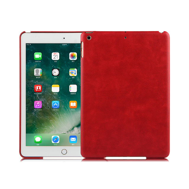huge selection of c1c3a 26c0d US $7.98 16% OFF|Fashion Ultra Thin Slim Lightweight PC Protective Skins  Case Back Cover For iPad 9.7 new 2017 2018 A1822 A1823 + Gift-in Tablets &  ...