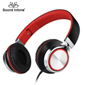 Sound Intone Ms200 Folding Stereo Headsets Strong Low Bass Adjustable Headphones for Smartphones Mp3/4 Laptop Computers Tablet