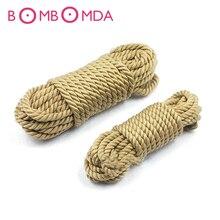 5M 10M Sex Toys Cotton Hemp Rope Provocative Alternative Cotton Tied Rope Bondage Sex Bondage Sex Products