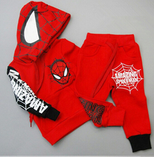 ST178 2015 spring new children's clothing Spiderman Costume Spiderman Costume Spider - Man suit children set retail